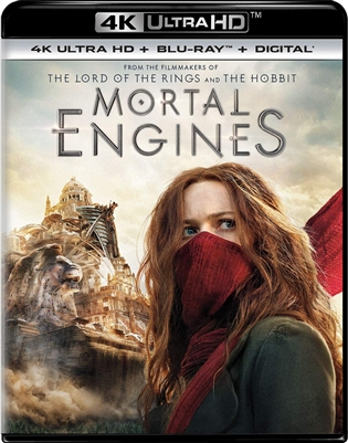 Mortal Engines 4K UHD 01/19 Blu-ray (Rental)