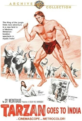 Tarzan Goes to India 1962 01/19 Blu-ray (Rental)