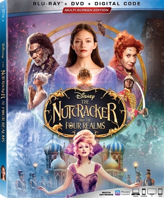 Nutcracker and the Four Realms 01/19 Blu-ray (Rental)