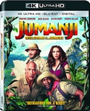 Jumanji: Welcome to The Jungle 4K UHD Blu-ray (Rental)
