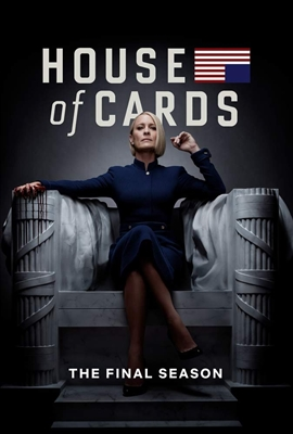 House of Cards Season 6 Disc 1 Blu-ray (Rental)