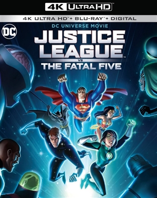 Justice League vs The Fatal Five 4K UHD Blu-ray (Rental)