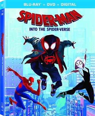 Spider-Man: Into the Spider-Verse 02/19 Blu-ray (Rental)