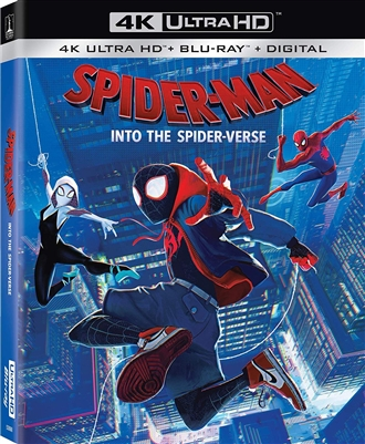 Spider-Man: Into the Spider-Verse 4K UHD Blu-ray (Rental)