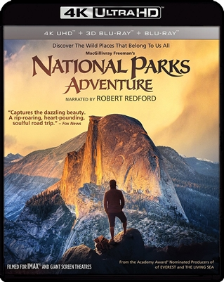IMAX: National Parks Adventure 4K UHD Blu-ray (Rental)
