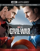 (Pre-order - ships 04/23/19) Captain America: Civil War 4K UHD Blu-ray (Rental)