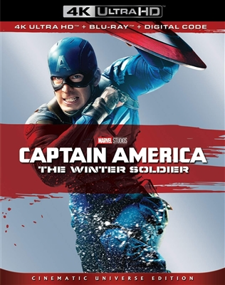 Captain America: The Winter Soldier 4K UHD Blu-ray (Rental)