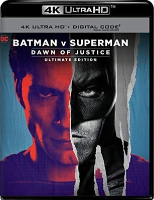 Batman v Superman: Dawn of Justice Extended 4K Blu-ray (Rental)