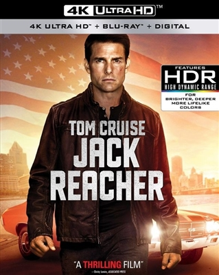 Jack Reacher 4K UHD Blu-ray (Rental)
