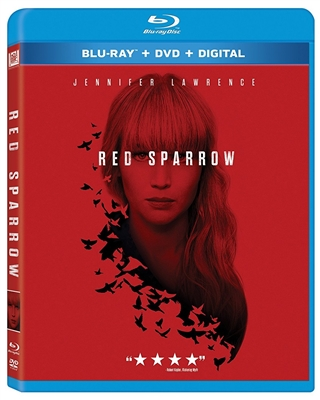 Red Sparrow 04/18 Blu-ray (Rental)