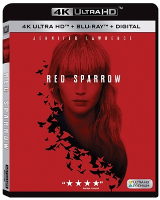 Red Sparrow 4K UHD Blu-ray (Rental)