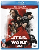 Star Wars: The Last Jedi 3D Blu-ray (Rental)