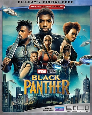 Black Panther 04/18 Blu-ray (Rental)