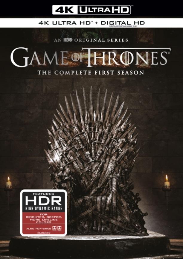 Game Of Thrones Season 1 Disc 3 4k Uhd Blu Ray Rental