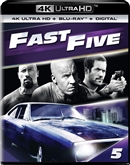 (Releases 2019/06/11) Fast Five 4K UHD 04/19 Blu-ray (Rental)