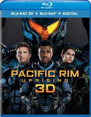 Pacific Rim Uprising 3D Blu-ray (Rental)
