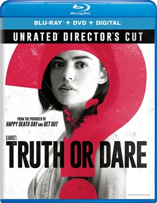 Blumhouse's Truth Or Dare 06/18 Blu-ray (Rental)