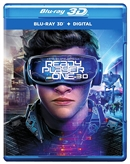 Ready Player One 3D Blu-ray (Rental)