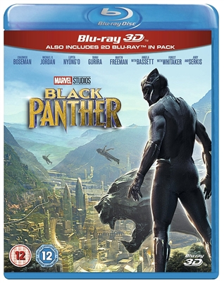 Black Panther 3D Blu-ray (Rental)