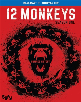 12 Monkeys Season 1 Disc 3 Blu-ray (Rental)