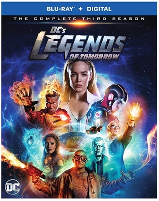 DC's Legends of Tomorrow Season 3 Disc 1 Blu-ray (Rental)