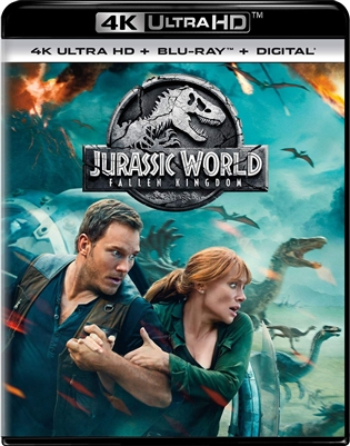 Jurassic World: Fallen Kingdom 4K UHD Blu-ray (Rental)