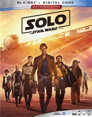 Solo: A Star Wars Story 07/18 Blu-ray (Rental)
