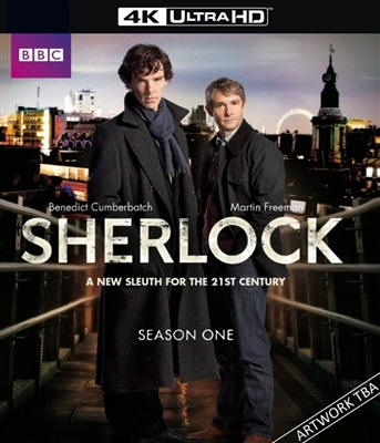 Sherlock Season 1 4K UHD 07/18 Blu-ray (Rental)