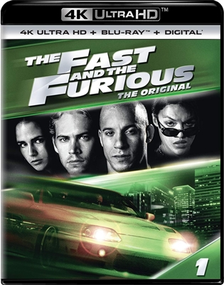 Fast and the Furious 4K UHD 08/18 Blu-ray (Rental)