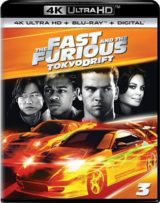 Fast and the Furious: Tokyo Drift 4K UHD 08/18 Blu-ray (Rental)