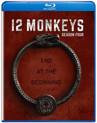 12 Monkeys: Season 4 Disc 1 09/18 Blu-ray (Rental)