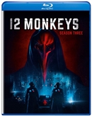 12 Monkeys Season 3 Disc 1 Blu-ray (Rental)