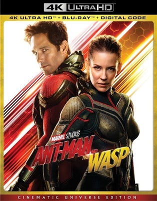 Ant-Man and the Wasp 4K UHD 09/18 Blu-ray (Rental)