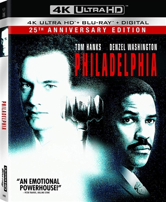 Philadelphia 4K UHD 09/18 Blu-ray (Rental)