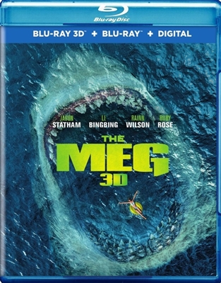 Meg 3D 10/18 Blu-ray (Rental)