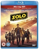 Solo: A Star Wars Story 3D 10/18 Blu-ray (Rental)
