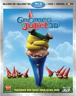Gnomeo & Juliet 3D Blu-ray (Rental)