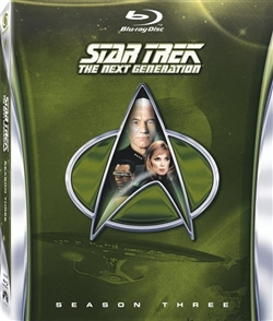 Star Trek Next Generation Season 3 Disc 1 Blu-ray (Rental)