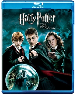 Harry Potter 5 and the Order of the Phoenix Blu-ray (Rental)