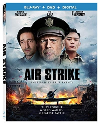 Air Strike aka The Bombing 11/18 Blu-ray (Rental)