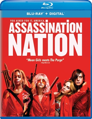 Assassination Nation 11/18 Blu-ray (Rental)