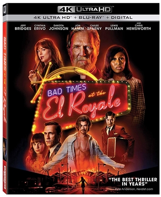 Bad Times At The El Royale 4K UHD 11/18 Blu-ray (Rental)
