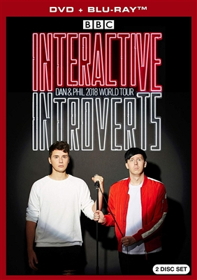 Dan & Phil 2018 World Tour: Interactive Introverts Blu-ray (Rental)