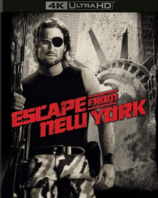 Escape from New York 4K UHD 11/18 Blu-ray (Rental)
