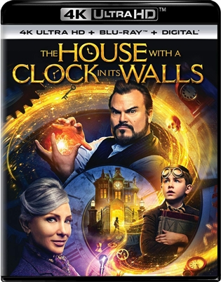 House with a Clock in Its Walls 4K UHD 11/18 Blu-ray (Rental)