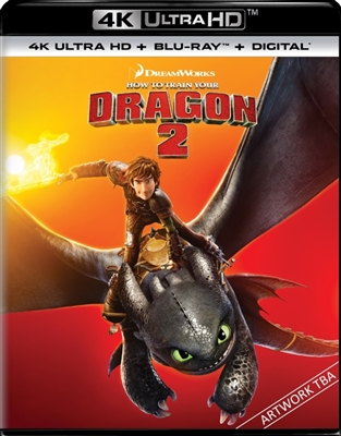 How to Train Your Dragon 2 4K UHD Blu-ray (Rental)