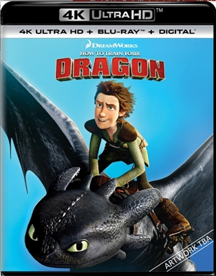 How to Train Your Dragon 4K UHD Blu-ray (Rental)