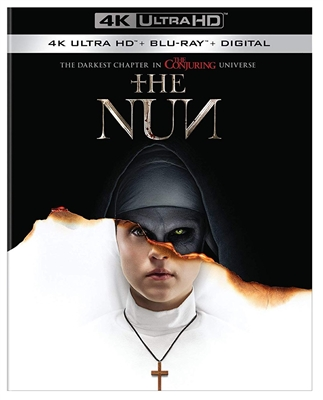 Nun 4K UHD 11/18 Blu-ray (Rental)