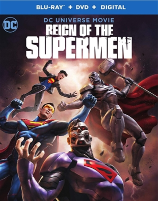 Reign of the Supermen 11/18 Blu-ray (Rental)