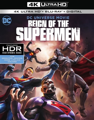 Reign of the Supermen 4K UHD Blu-ray (Rental)